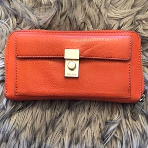 Authentic DKNY long wallet